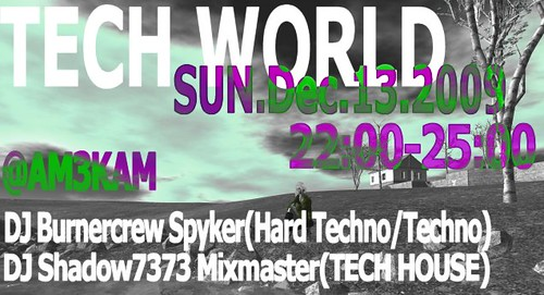 TECH WORLD@AM3KAM 20091213