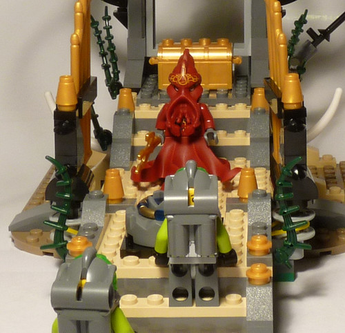 8061 - Gateway of the Squid - LEGO 2010 Atlantis - confrontation
