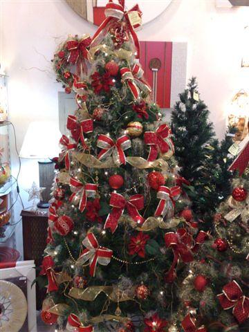 fotos de arvore de natal decoradas