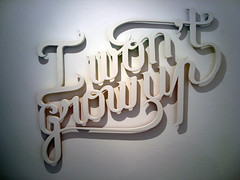 I won't grow up (Greg Ewing) Tags: hello art type monsters typo ewing