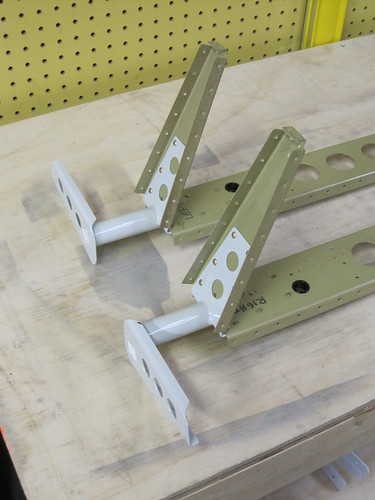 Elevator Control Arms Installed