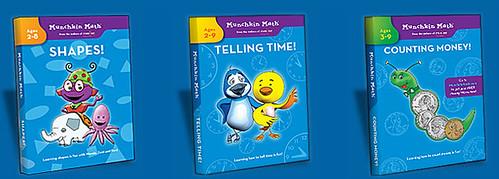 Munchkin Math DVDs