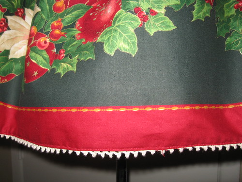 Christmas skirt 2009 020