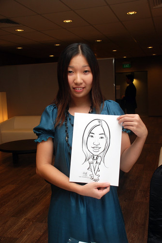 Caricature live sketching for Lonza - 14