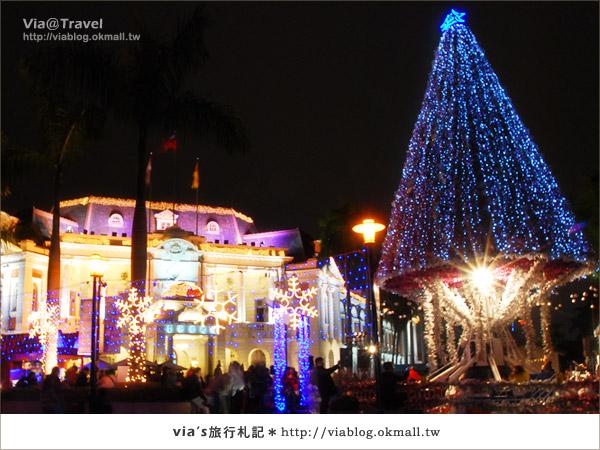 【台中市政府】台中耶誕節活動~來台中市政府感受迷人耶誕~
