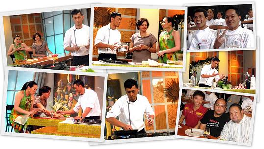Chef Sau Del Rosario at Secrets of the Masters Cooking Show