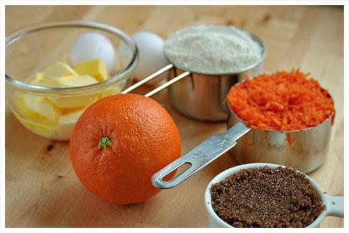 Carrot & Orange Cupcakes