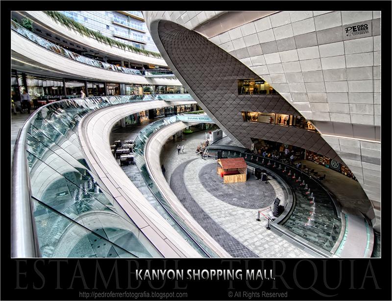 Centro Comercial Kanyon Estambul - 1