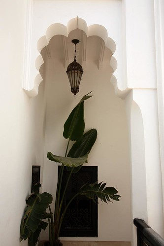 Riad in Marrakech (Photo by Jennifer Laceda)