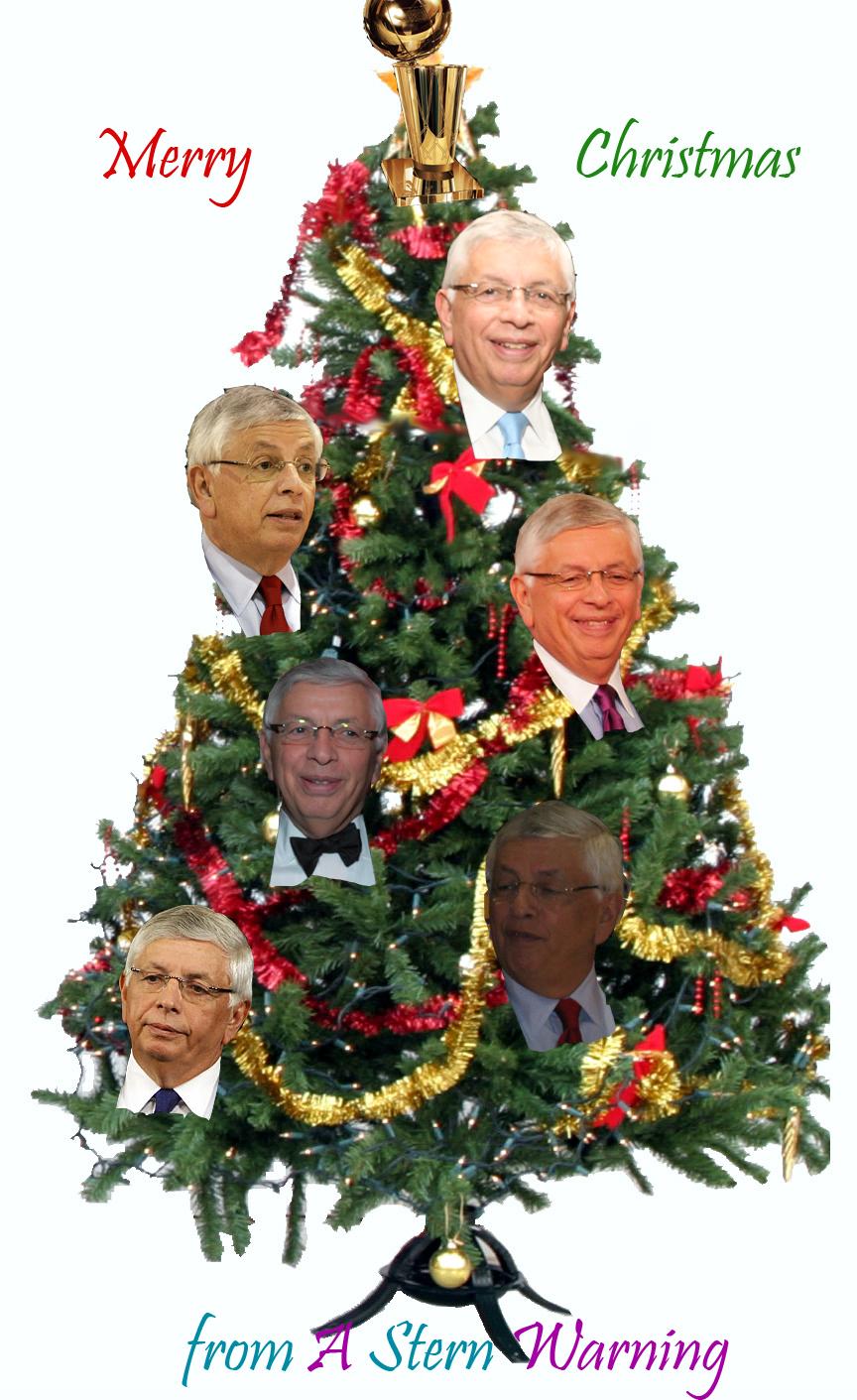 Stern Christmas