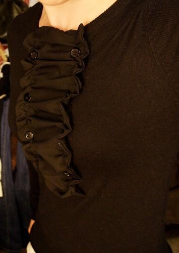 black tuxedo sweater 1