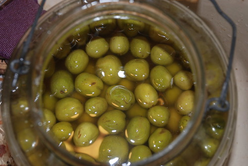 Curing Olives in Salt Brine