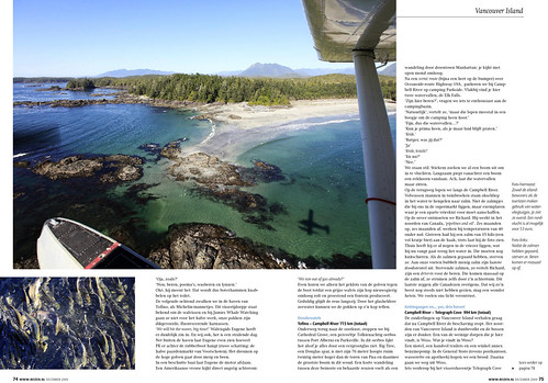 Vancouver Island for REIZEN Magazine, pages 5&6.