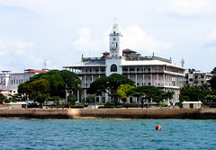 Coming in to Stone Town