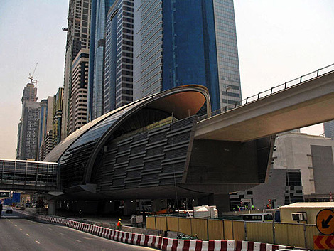 Dubai subway station