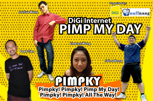 Nuffnang DiGi Pimp My Day Challenge
