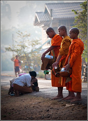 Morning alms (samthe8th) Tags: saved deleted7 deleted6 sam saved5 plateau deleted3 deleted2 saved2 deleted4 saved10 monks deleted5 deleted laos kneeling prayers saved3 saved4 alms saved6 saved7 saved8 saved9 southernlaos bolaven tadlo savedbythedeltemeuncensoredgrou bolavenplateau spiceroads salavan flickrchallengegroup flickrchallengewinner thepinnaclehof kanchenjungachallengewinner kiengthanlei tphofweek30