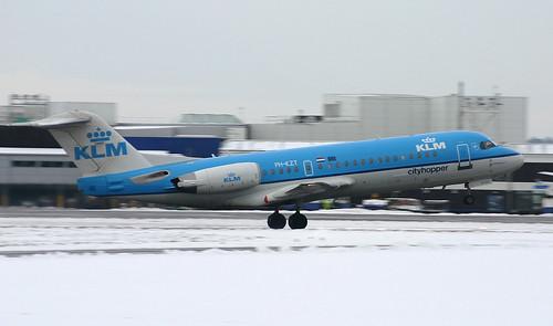 PH-KZT KLM Cardiff