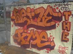 seize da time (graffiti oakland) Tags: graffiti oakland time kit mbt std seize vegs htf stox kitone