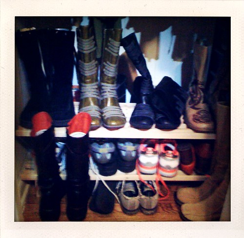 Closet/Shoe Organization: After