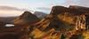 Trotternish Ridge - Isle of Skye (David Kendal) Tags: skye sunrise dawn scotland isleofskye pano viewpoint goldenhour firstlight quirang quiraing scottishlandscape scottishscenery dundubh trotternishridge druimanruma biodabuidhe lochcleat