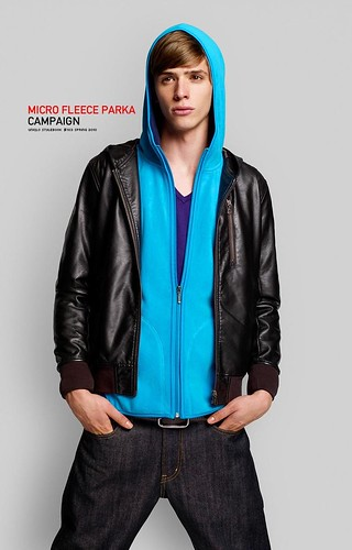 UNIQLO 0205MICRO FLEECE PARAKA_Jamie Conday