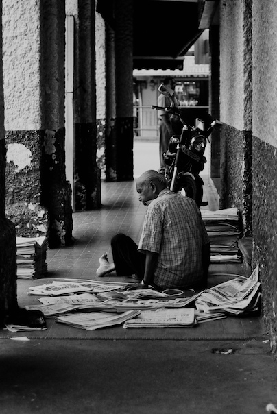 The newspaper collector II.