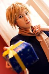 091219_santa-0119 (masakocha) Tags: christmas winter scarf holidays cosplay sweden gift present 2009 sufin hetalia