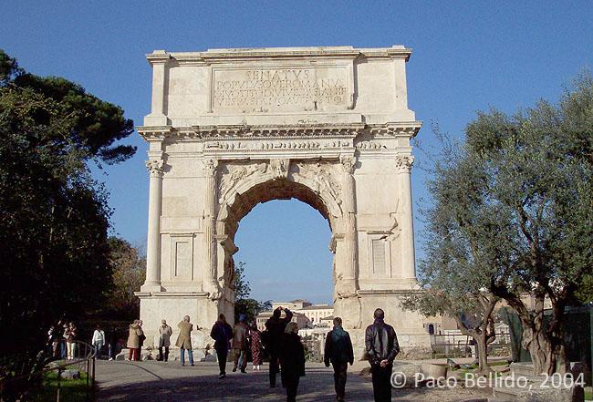 Arco de Tito. © Paco Bellido, 2004