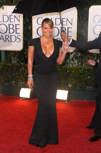Golden Globes 2010 Mariah Carey