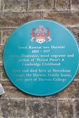 Photo of Gwen Raverat blue plaque