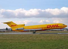 HZ-SNC Boeing 727-230 Adv DHL (Keith B Pics) Tags: boeing southend sen dhl 727 b727 egmc 727230 hzsnc