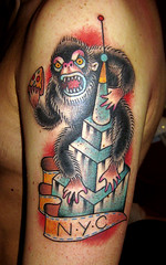 new york city (piranhart) Tags: new york city tattoo king state kong pizza empire piranha welldone xpiranhax