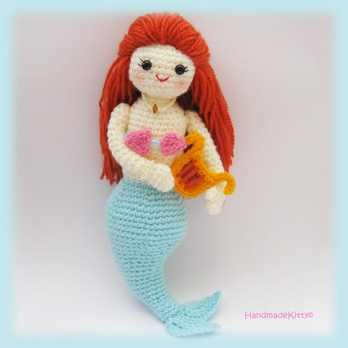 Miss mermaid, amigurumi crochet pattern | Flickr - Photo Sharing!