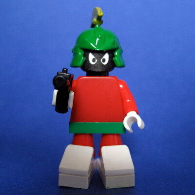 Custom minifig Marvin the Martian