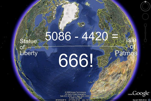 Statue of Liberty, Isle of Patmos, 666 4295267099_89ebb82a17