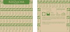 Opakowanie - rzezucha (Kwiecie) Tags: green paper design herbs packaging recycling lifecycle kwiecie kwiecien opakowanie zioa kwietniusza