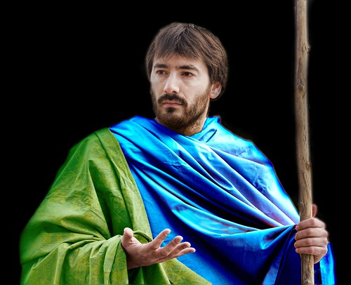 José Luis Nares como Santiago el Mayor. Fotografía de Eva Corral