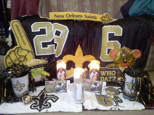 NFC Championship Altar
