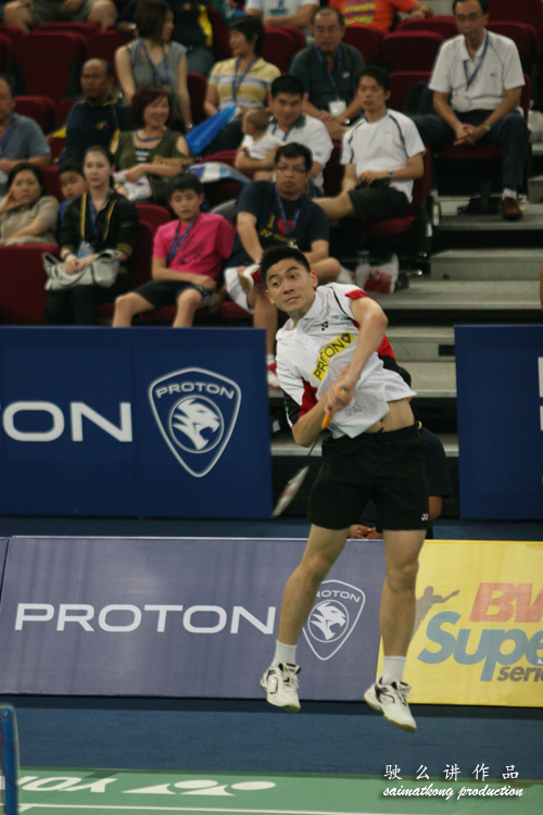 Tan Boon Heong Jumping smash