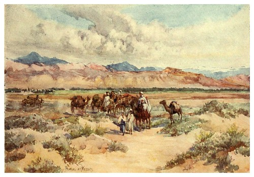 014-Caravana en el Sahara-Algeria and Tunis (1906)-Frances E. Nesbitt