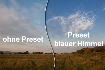 blue sky - free lightroom presets