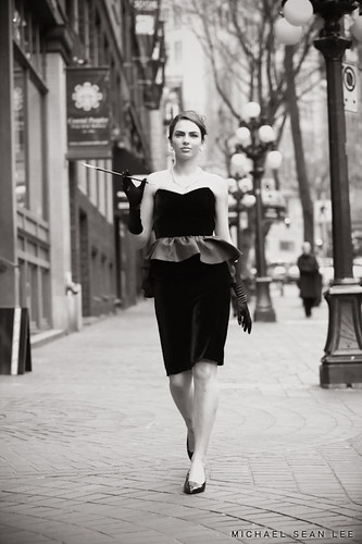 Vancouver Fashion Photography in Gastown