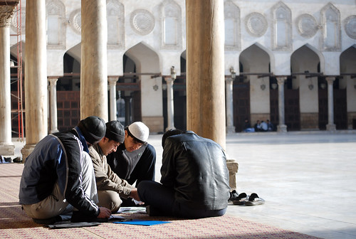 Foreign Al-Azhar students by BratMikrajovic.