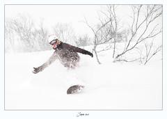 Japan2010-39 (TimmyWorld) Tags: snow japan snowboarding nikon skiing powder backcountry d200 niseko offpiste
