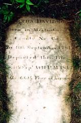 Martha McRee Davidson (1781-1848)