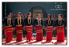 Pangsau Pass Winter Festival 2010 : Adi Dance (Arif Siddiqui) Tags: travel costumes girls portrait people woman india green heritage history tourism nature colors beauty festival portraits river landscape glamour colorful asia paradise folk traditional scenic festivals culture lifestyle places tribal east hills tribes serene local raod tradition ethnic assam northeast cultures cultural arif arunachal pepa pristine ledo stillwell dances cemtery changlang tribals siddiqui arunachalpradesh sceninc monpa northeastindia bihu jairampur attires itanagar arunachalpradeshindia pangsaupass nampong arunachali pangsaupasswinterfestival ppwf ppwf2010