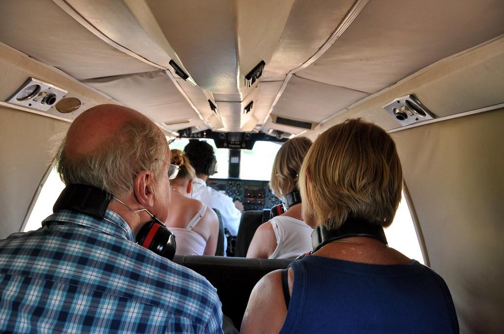 Onboard the Flight to Zanzibar