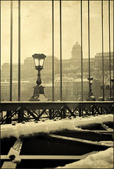 Verticals [winter edit] (PhatCamper) Tags: lamp monochrome vintage hungary budapest naturallight textures lamps ungarn hungarian magyarország hongrie canoneos30d wintercityscape phatcamper
