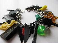 Vinyl Charm Bracelet